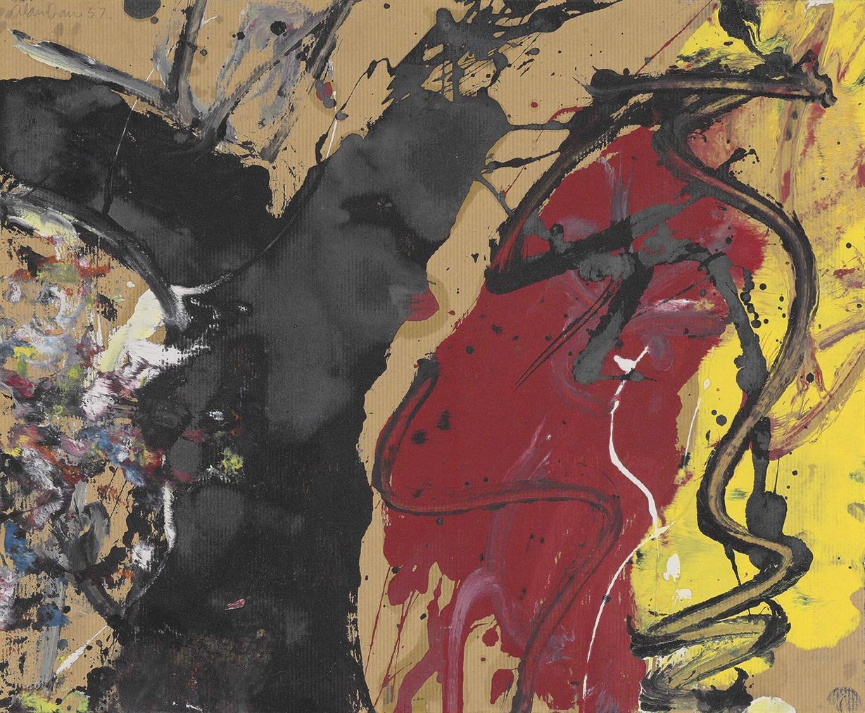 Alan Davie-Composition 1957-1957