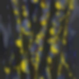 William Gear-Vertical Blue/Yellow-1972