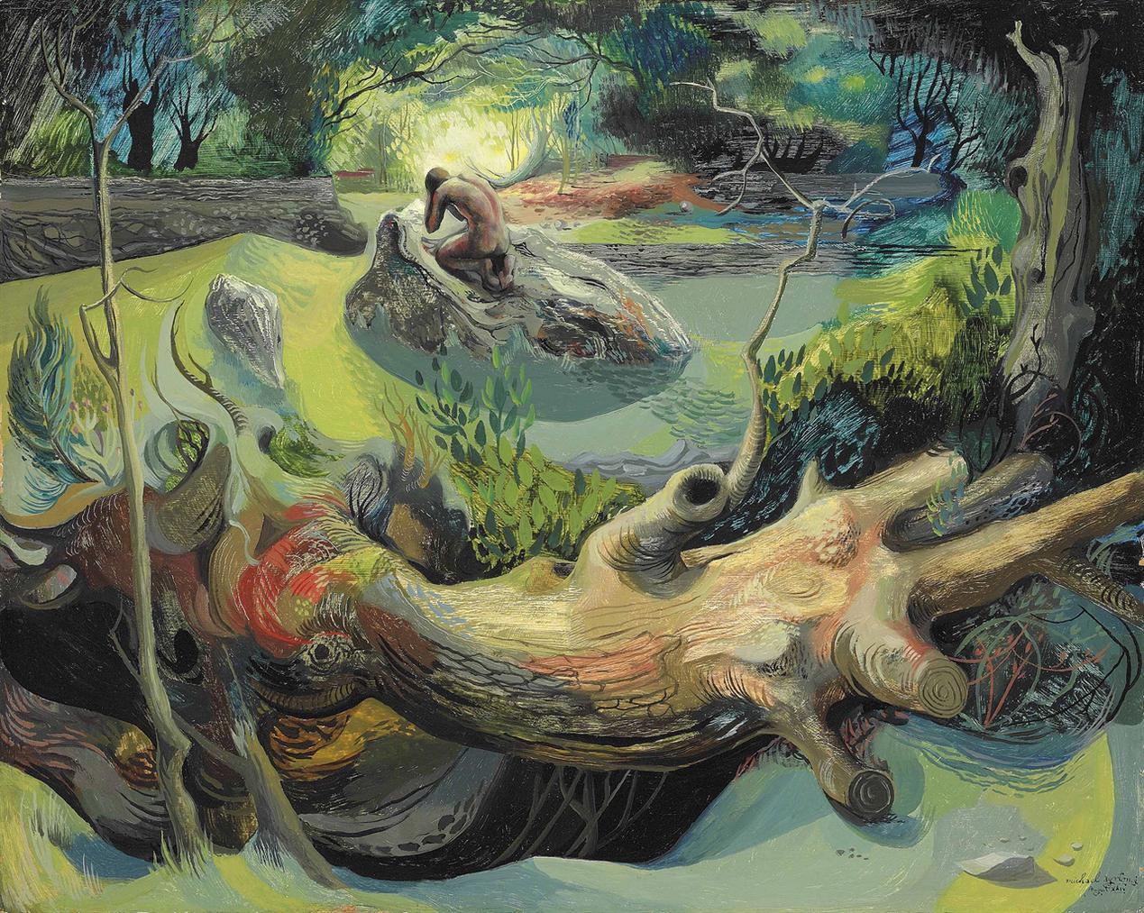Michael Ayrton-Gethsemane-
