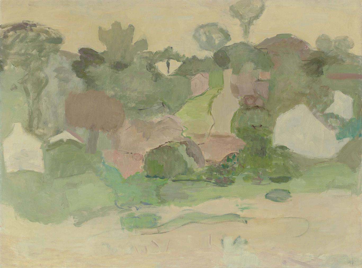 Mary Potter-Trees And Houses-1963