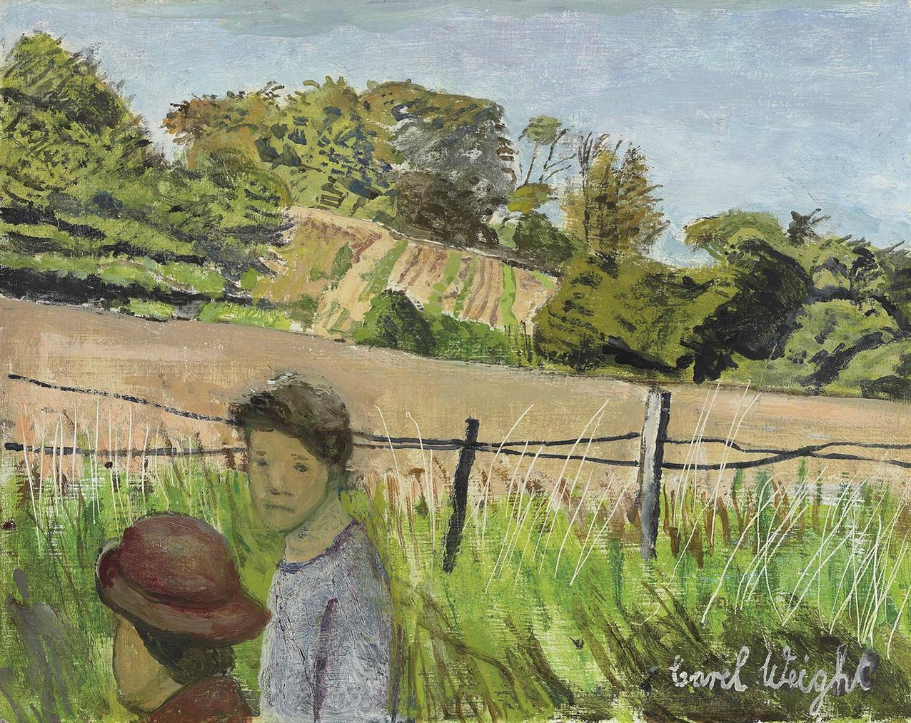 Carel Weight-On The Footpath-