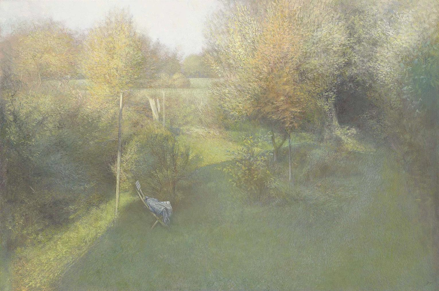 David Tindle - Shaded Garden-