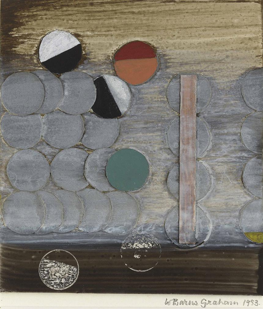Wilhelmina Barns-Graham-Collage, 1983-1983