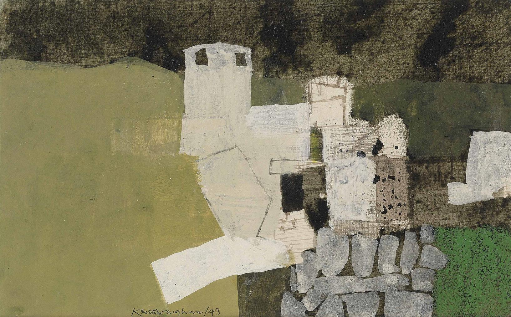 Keith Vaughan-Castle On The Moors-1943
