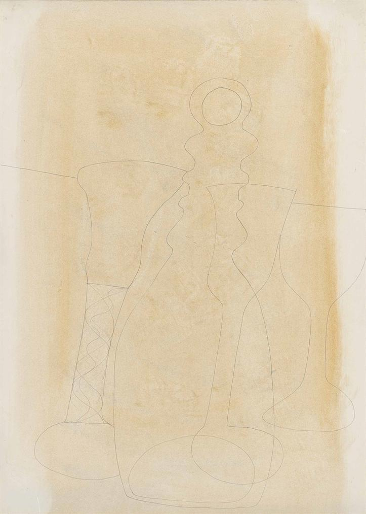 Ben Nicholson-(Four Forms) 1970-1970
