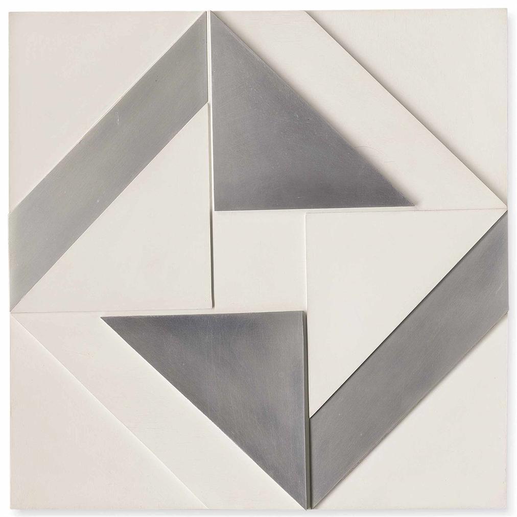Malcolm Hughes-White And Aluminium 1967-1967