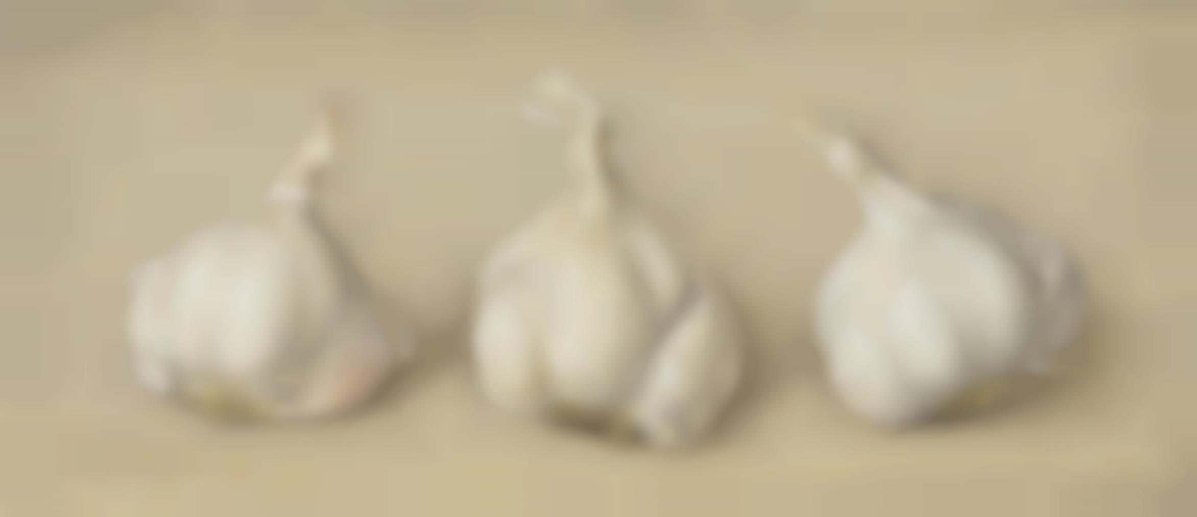 Eliot Hodgkin-Three Garlic Bulbs-1974