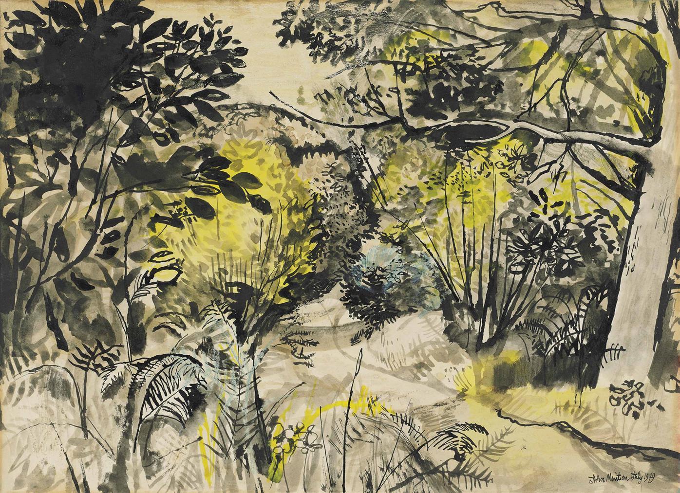 John Minton-Midsummer Landscape-1949