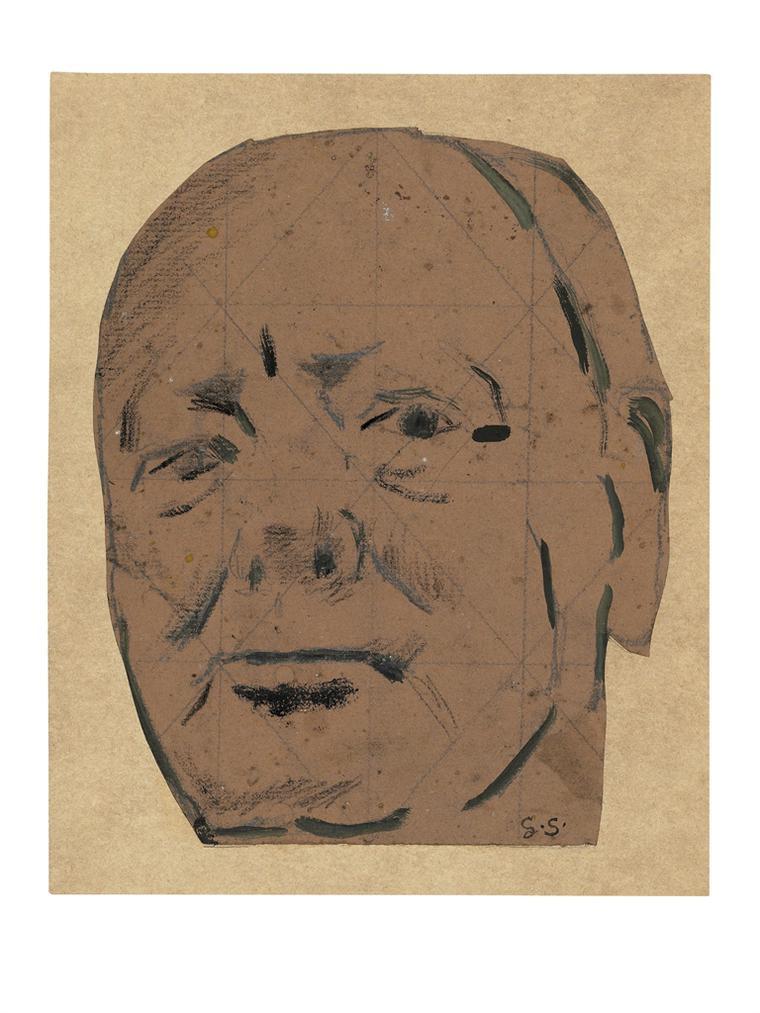 Graham Sutherland-Sir Winston Churchill-