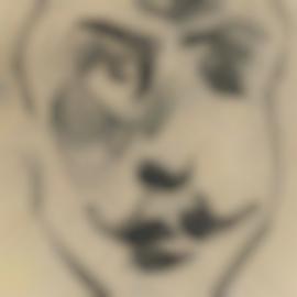 Henri Gaudier-Brzeska-Sculptural Head Of Brodsky-1913