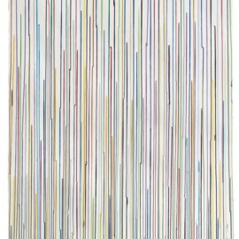 Ian Davenport-Staggered Lines Triplet-2012