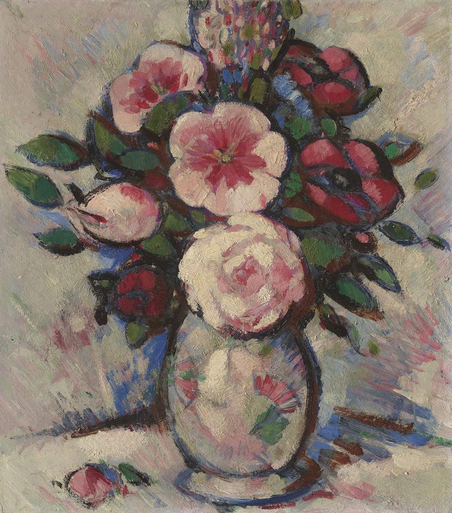 John Duncan Fergusson-Fleurs-1908