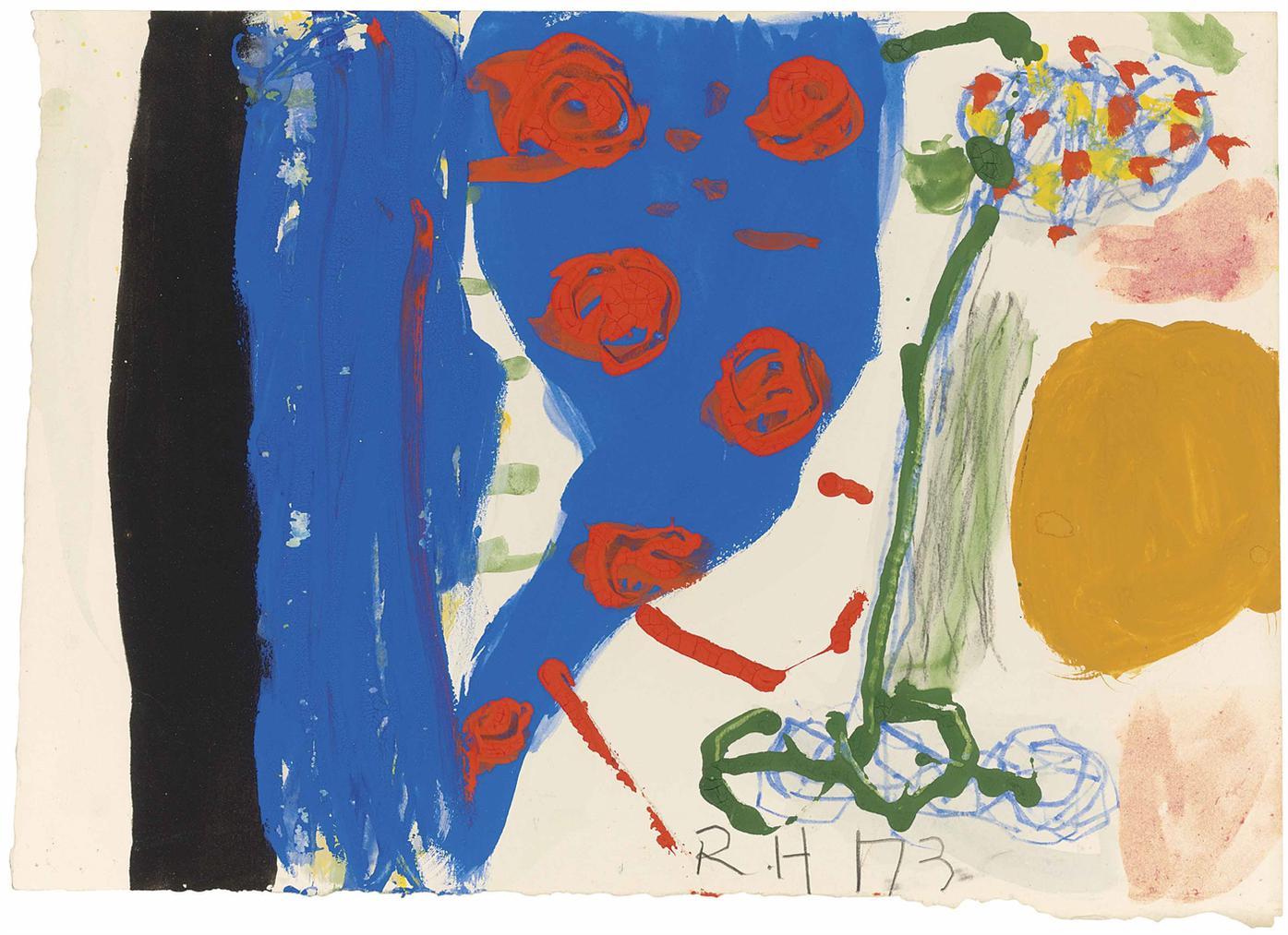 Roger Hilton-Untitled 1973-1973