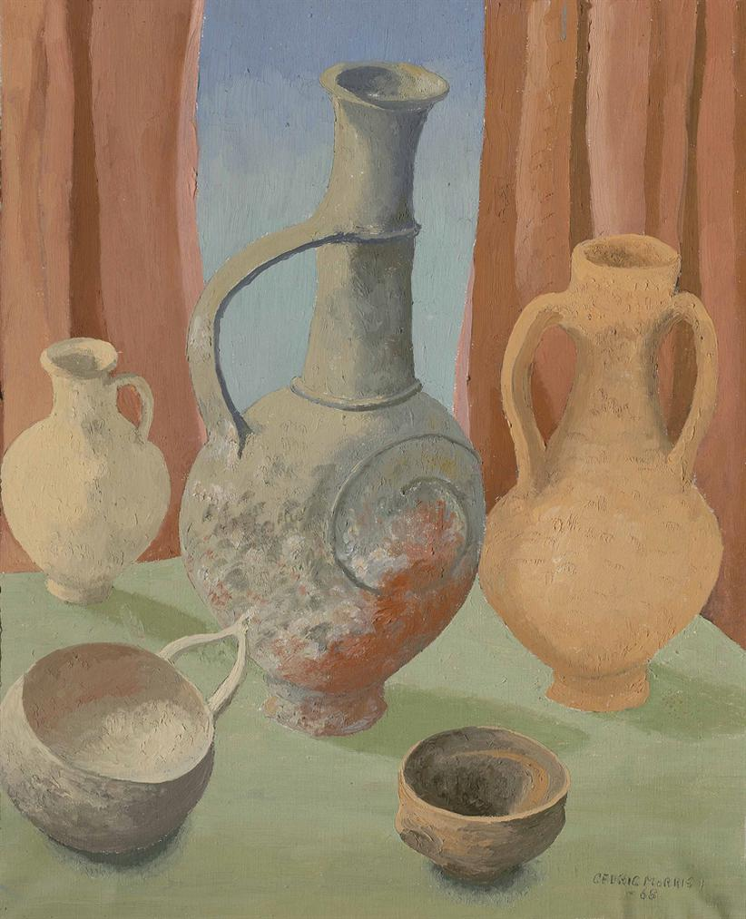 Cedric Morris-Pottery At Apollonia Lysia-1968