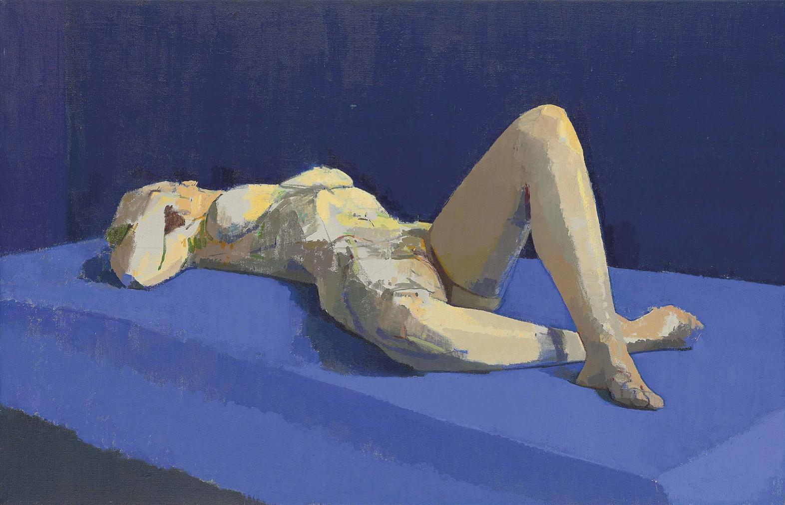 Andy Pankhurst - Blue Nude-2002