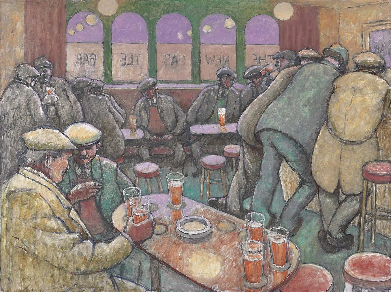 Norman Cornish - The Newcastle Bar-