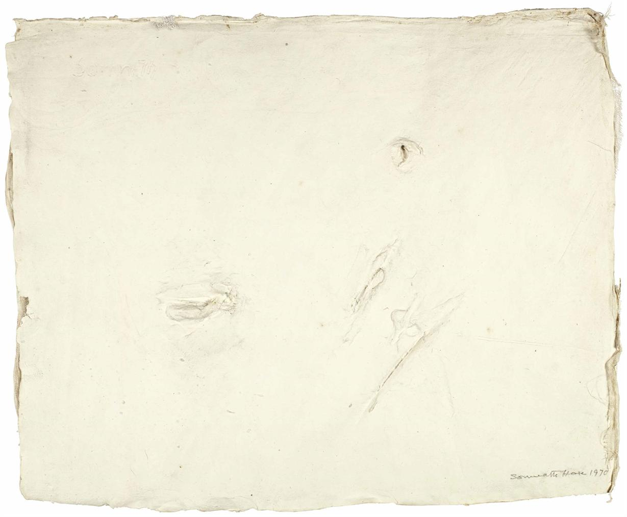 Somnath Hore - Untitled (Wounds Series)-1970
