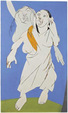 Tyeb Mehta-Two Figures-1994
