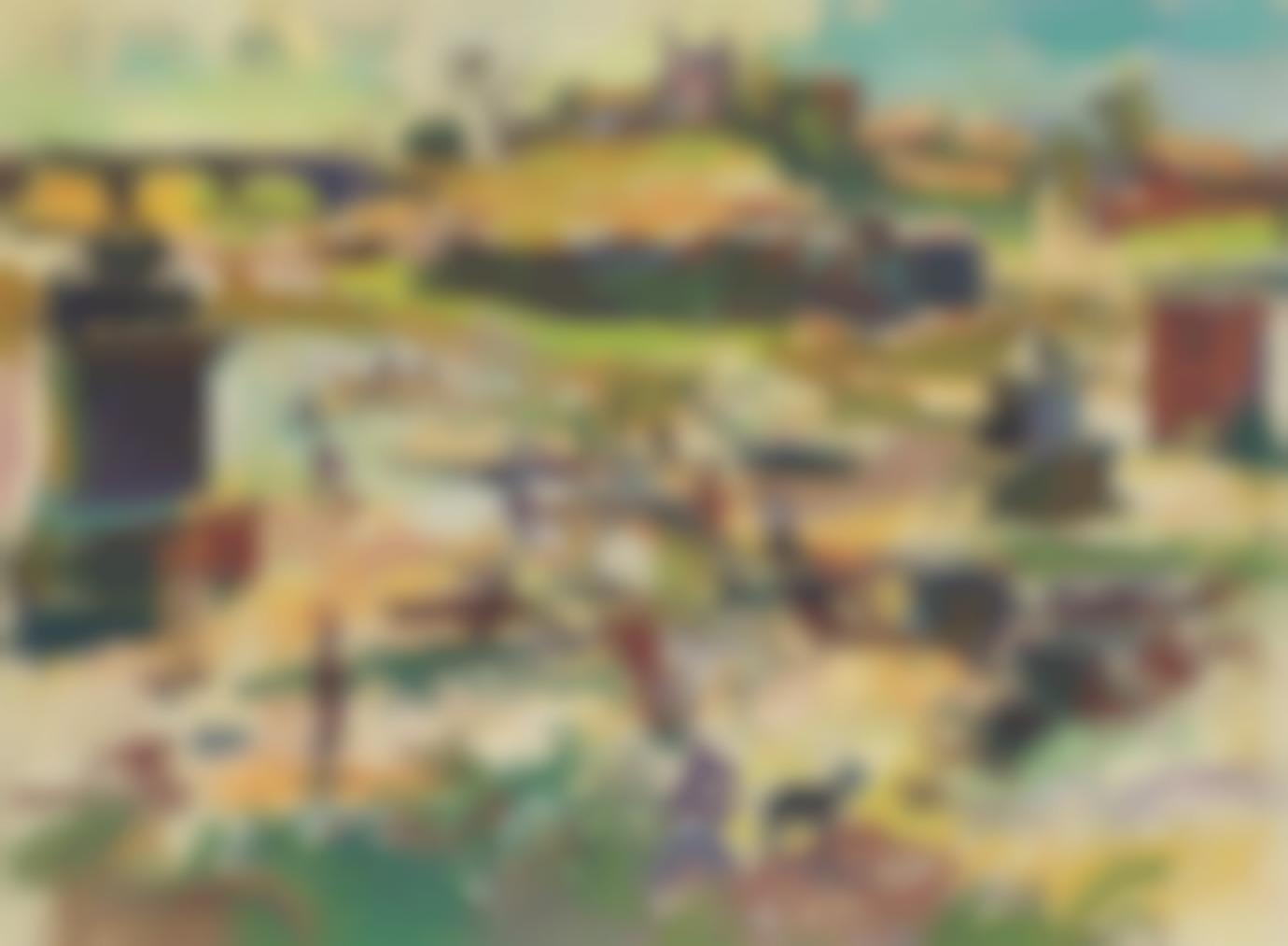 Walter Langhammer - Untitled (Landscape)-1940