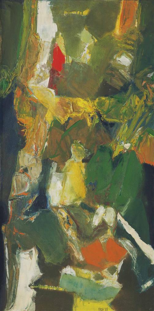 Syed Haider Raza-Untitled-1965