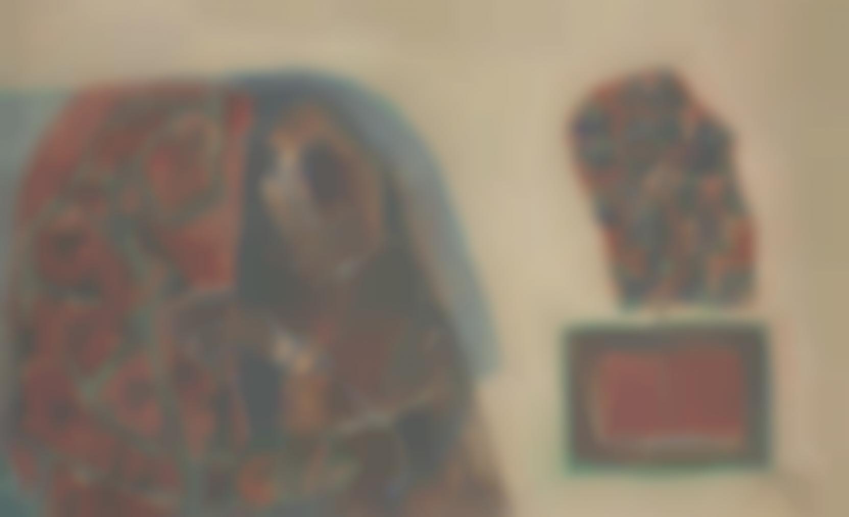Maqbool Fida Husain-Untitled (Two Women)-1960