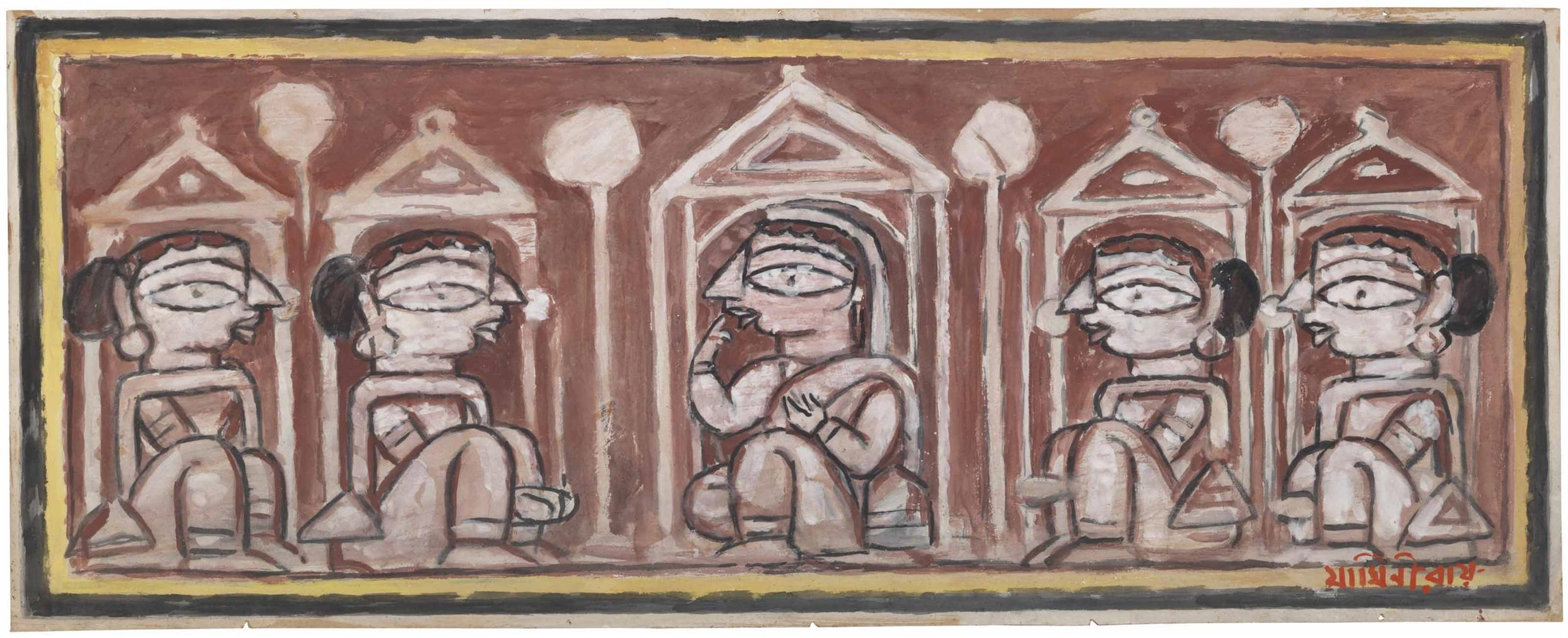 Jamini Roy - Untitled-