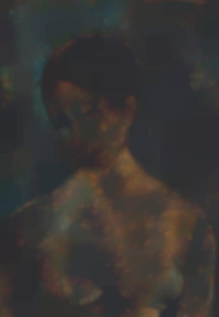 Akbar Padamsee-Untitled (Nude)-1967