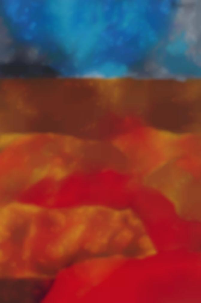 Akbar Padamsee-Untitled (Metascape)-2011