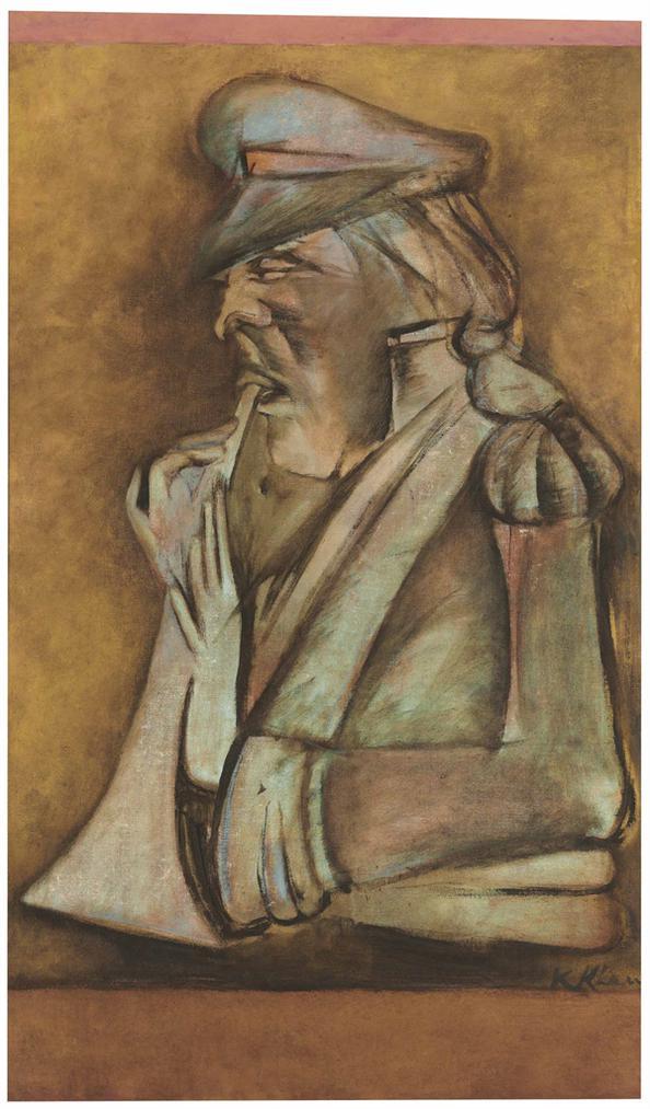 Krishen Khanna-Untitled (Bandwalla)-2004