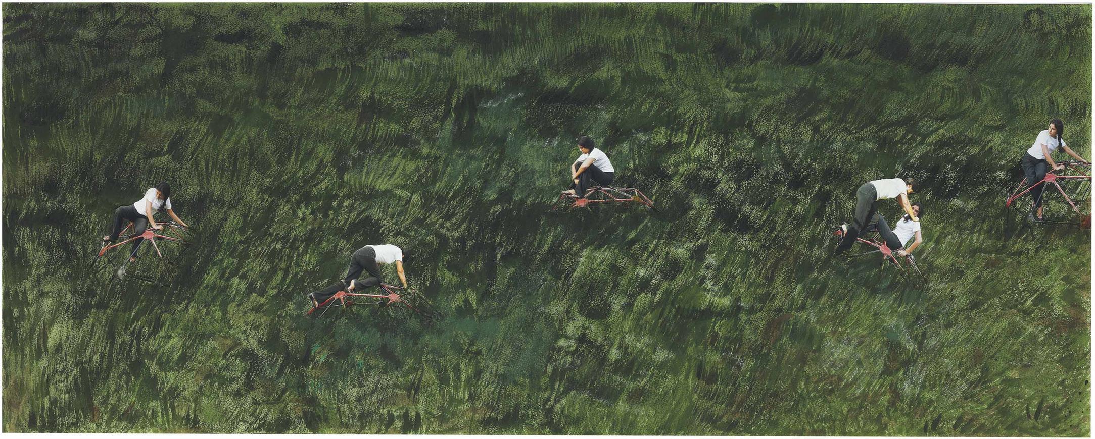 Hema Upadhyay-Of Vanishing Playgrounds-2001