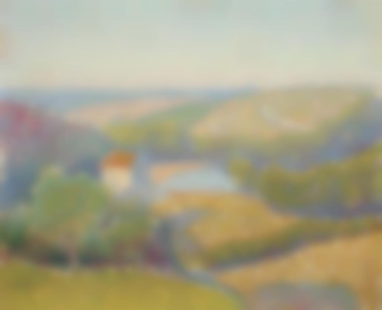 Jean Metzinger-Paysage-1908