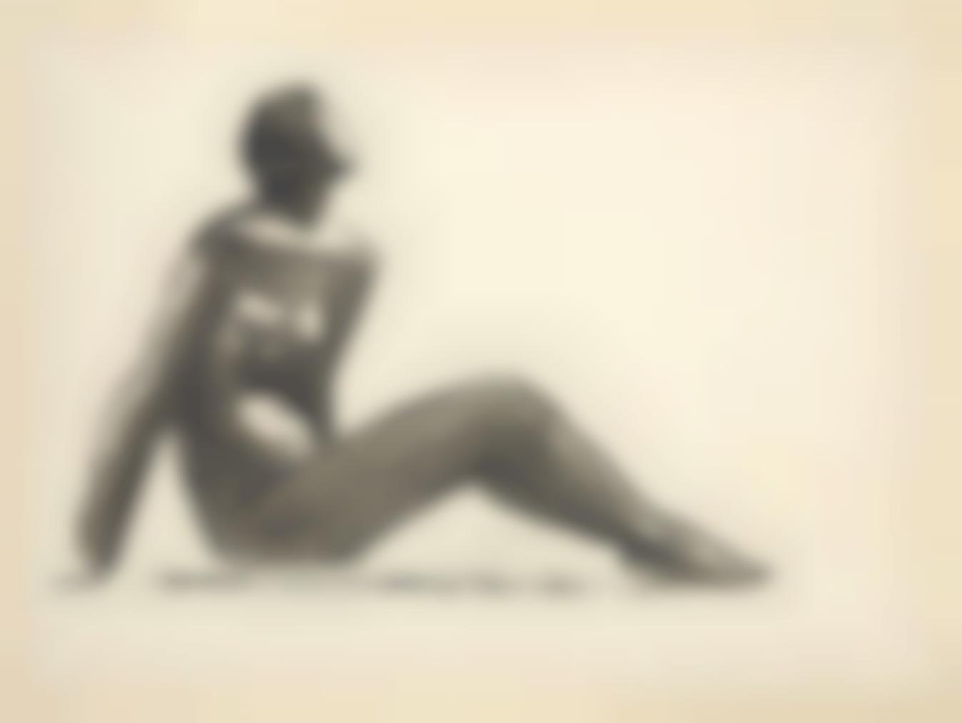 Julio Gonzalez-Femme Assise Nue-1940