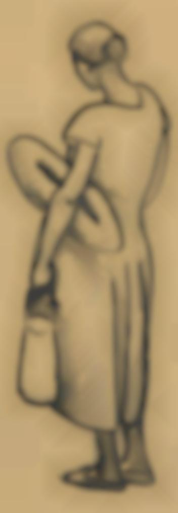 Julio Gonzalez-La Femme Au Pain-1927