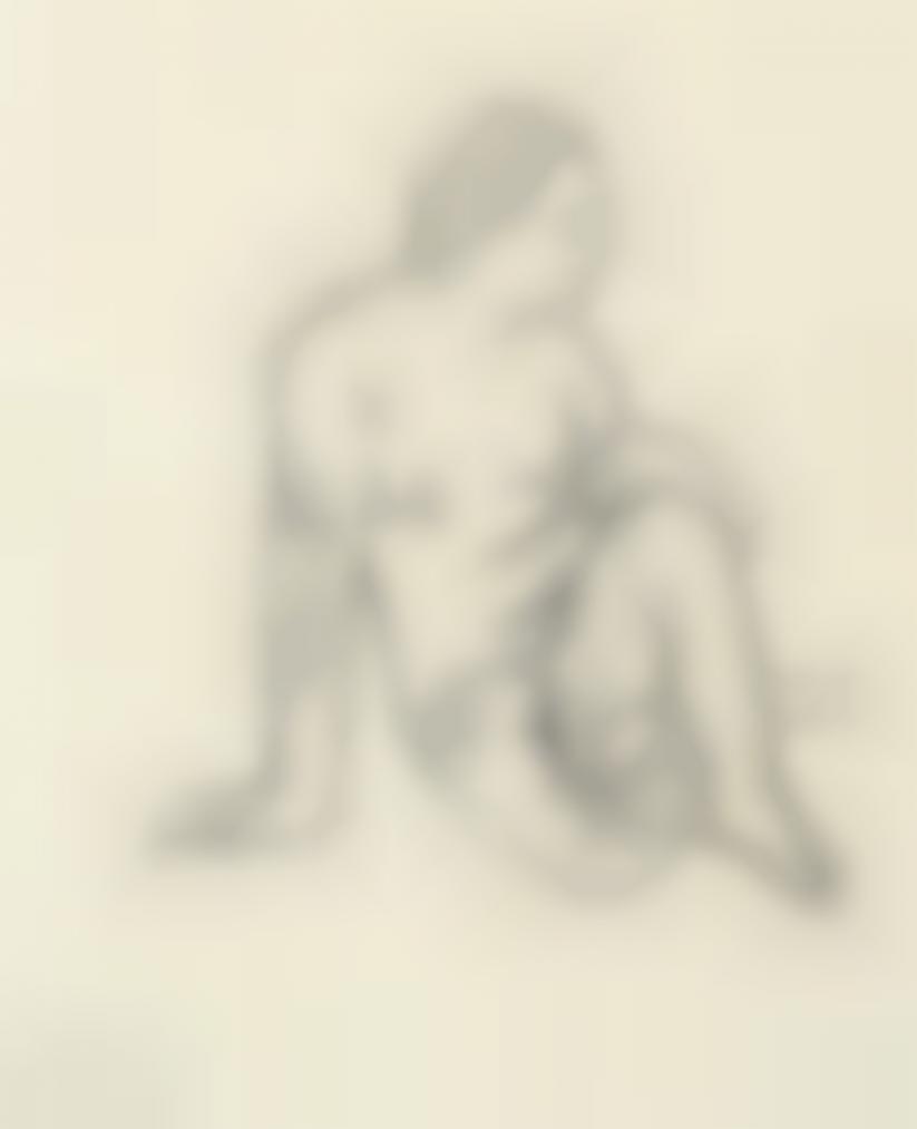 Paul Gauguin-Nu Assis-1893