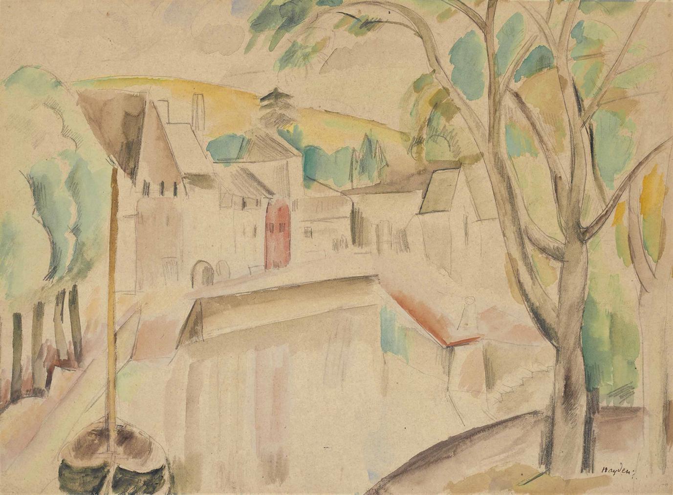 Henri Hayden-Vue Dun Canal-