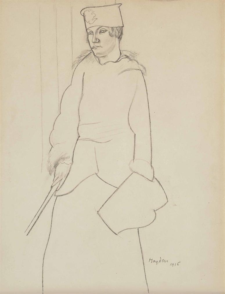 Henri Hayden-Elegante-1916