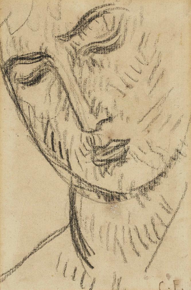 Charles Filiger-Tete De Femme-1892