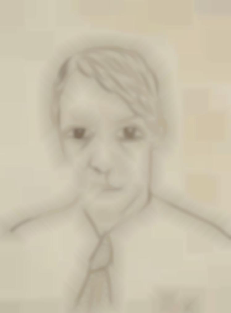 Irene Lagut - Portrait De Pablo Picasso-