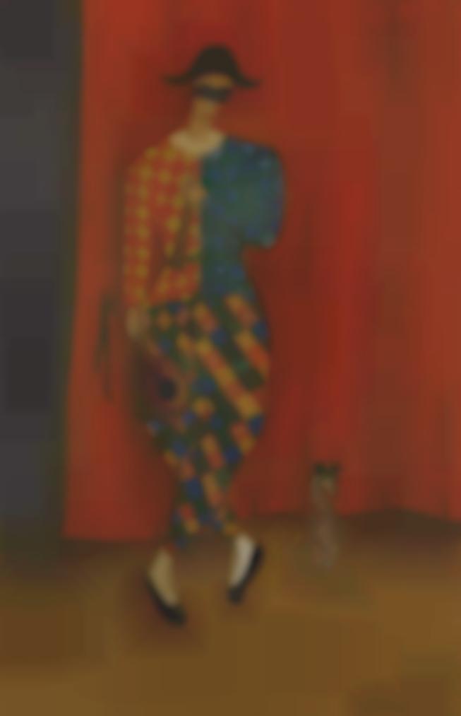 Irene Lagut - Arlequin Et Chien-