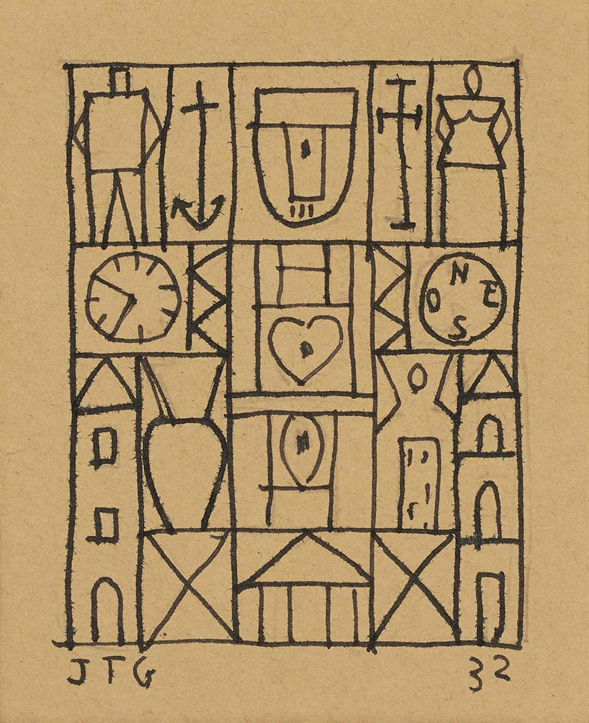 Joaquin Torres-Garcia-Composition Constructiviste-1932
