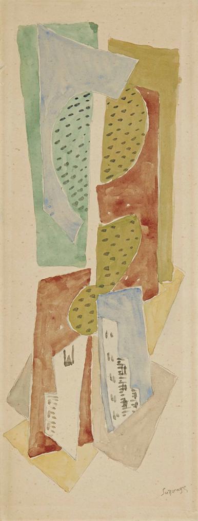 Leopold Survage-Composition Cubiste-