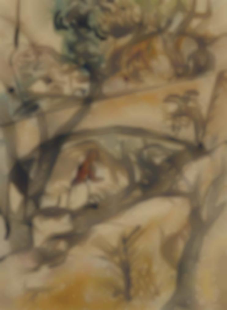 Celso Lagar-Paysage Exotique-