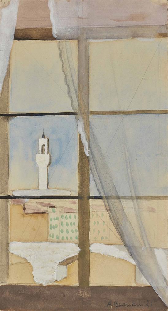 Andre Beaudin - Vue Dune Fenetre-1921