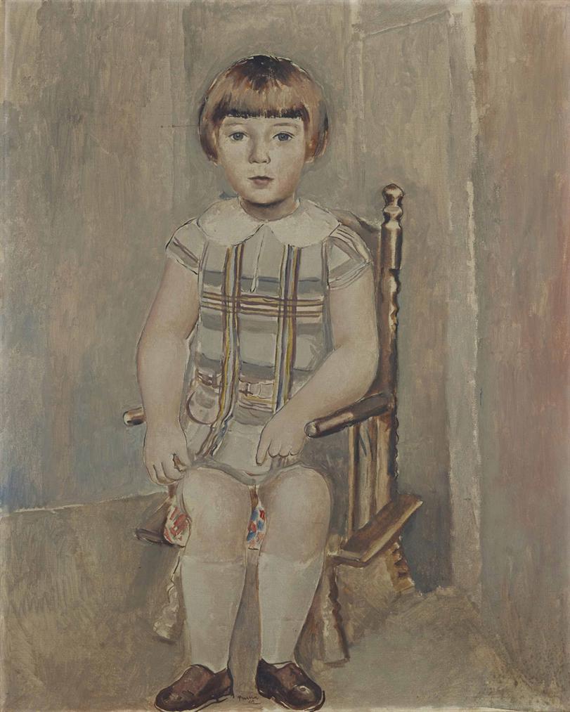 Pedro Pruna O'Cerans - Portrait De Jean-Francois Tournaire-1924