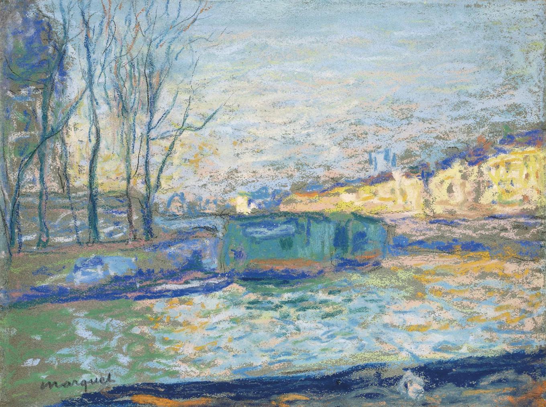 Albert Marquet-Le Petit Bras De La Seine-1900