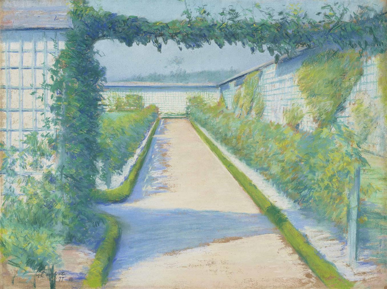 Gustave Caillebotte-Jardin Potager, Yerres-1877