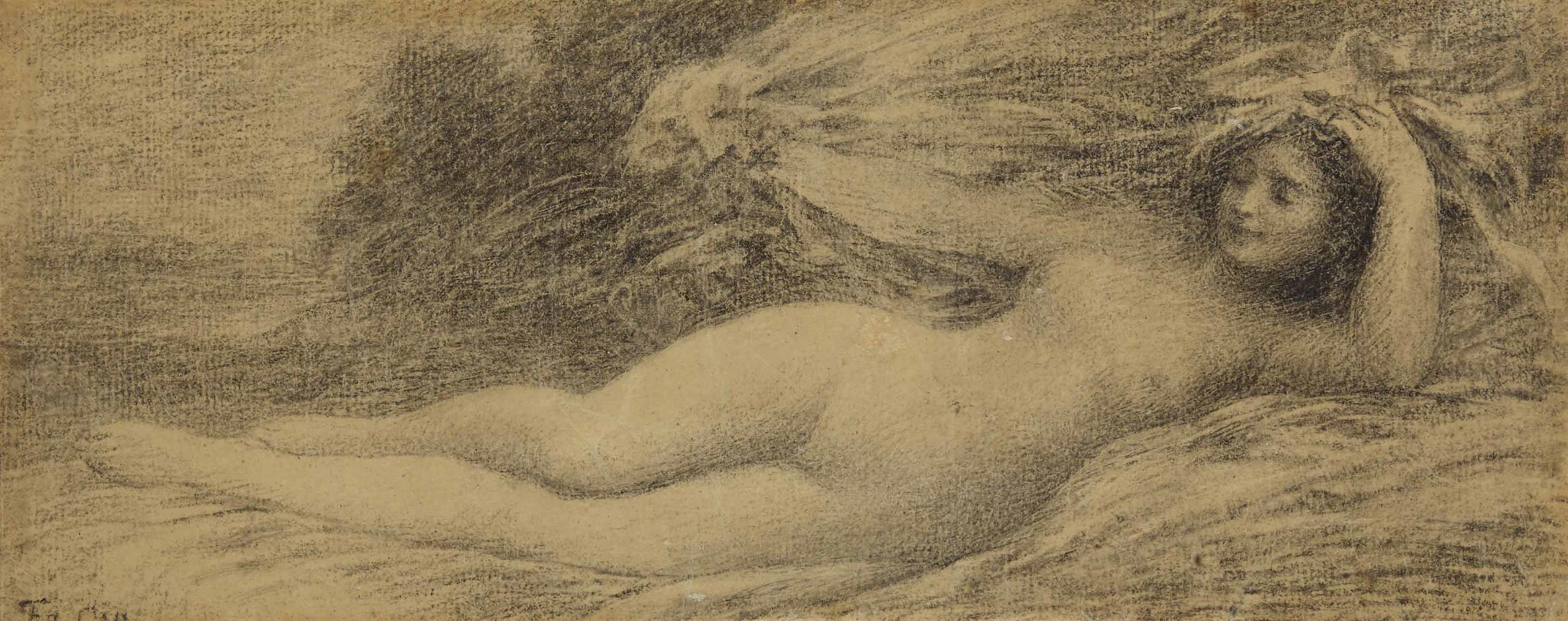 Henri Fantin-Latour-Baigneuse-