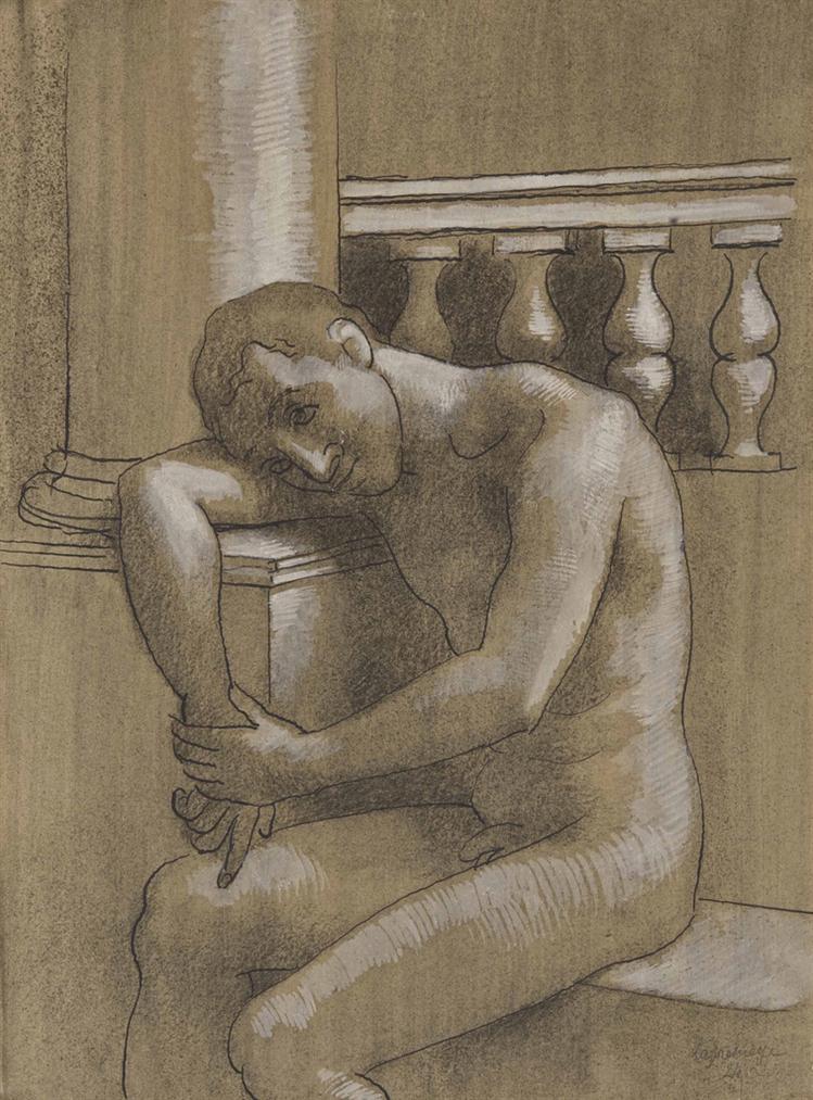 Roger de La Fresnaye-Le Vaincu-1924