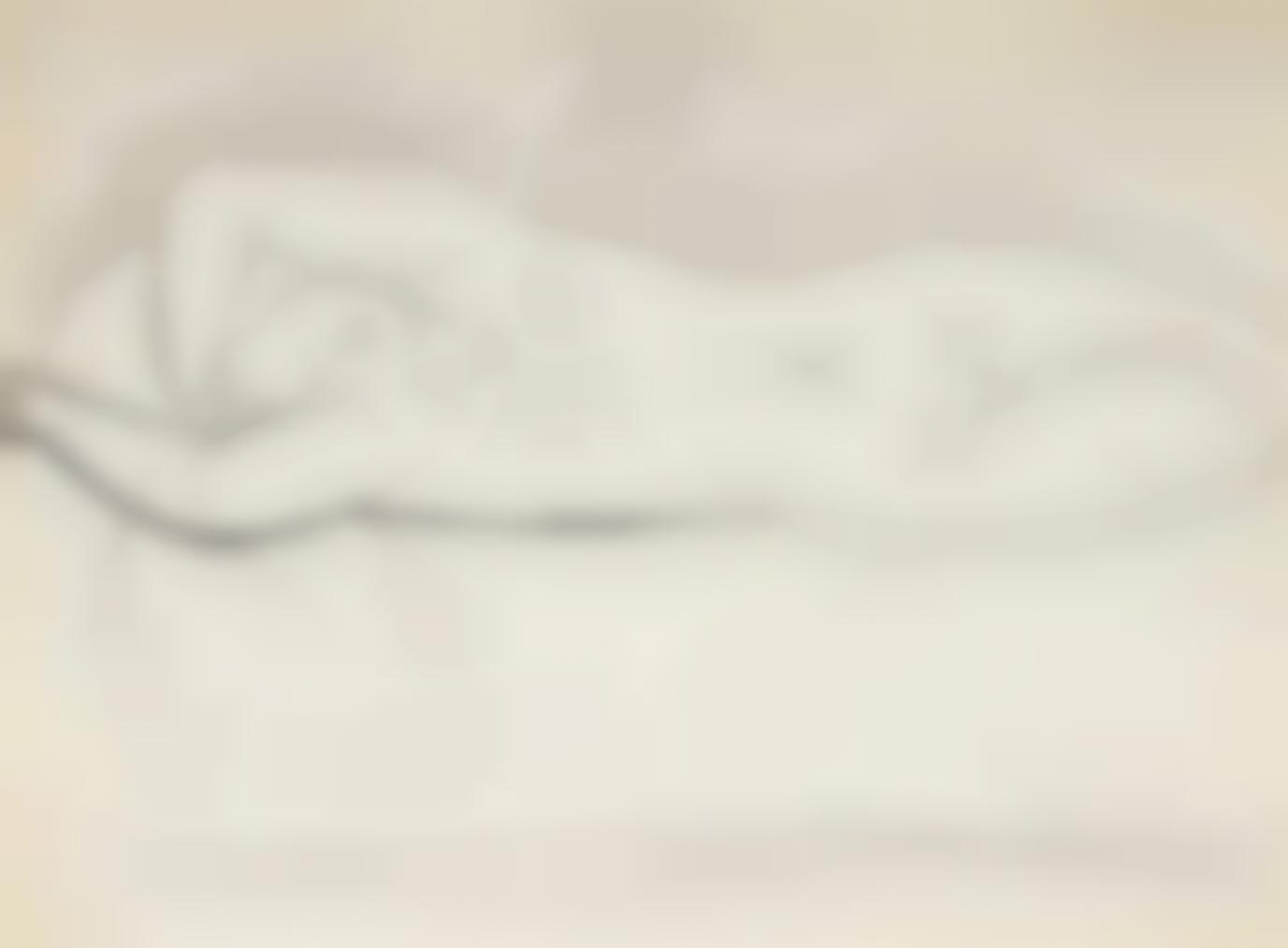 Pablo Picasso-Nu Endormi-1931