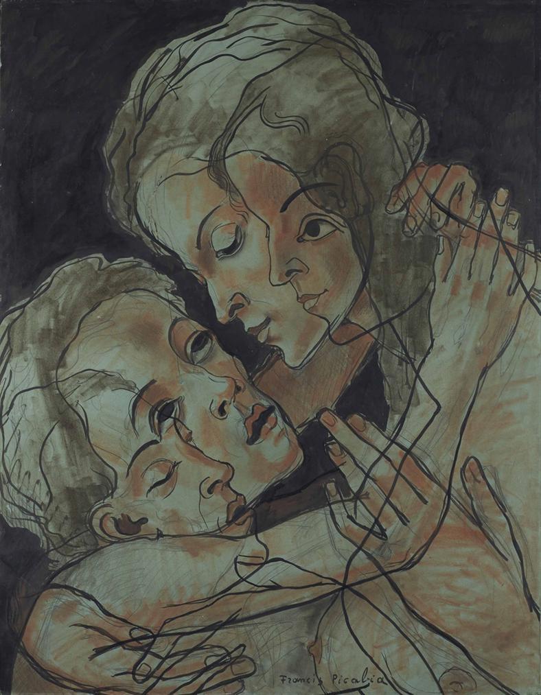 Francis Picabia-Quadrilogie Amoureuse-1932